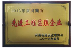 2015年河南省优秀德赢Vwin单位